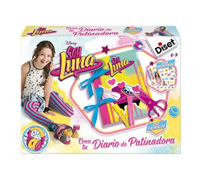 TOYS : JUGUETES - DISNEY Soy Luna Crea tu diario de patinadora Producto oficial Serie Televisión Disney Channel 2016 MANUALIDADES | Diset 46593 | Edad: 6-9 años Comprar en Amazon España
