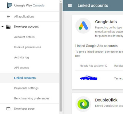 How to link Google Ads account with Google Play console or any other Google account