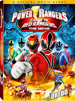 Power Rangers Samurai Clash Of The Red Rangers The Movie 2013 Dual Audio WEBRip 480p 150Mb