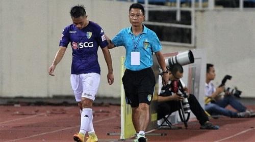 Hậu vệ Sầm Ngọc Đức CLB Hà Nội FC