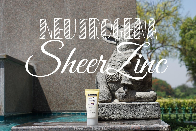 Neutrogena Sheer Zinc Dry Touch Sunscreen SPF50+ PA+++
