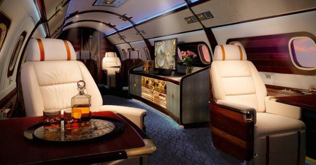 ¡Lo más extravagante del mundo: un hibrido entre un yate y jet de súper lujo!