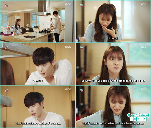 kang chul make ramen for yeon jo - W - Episode 10 Review