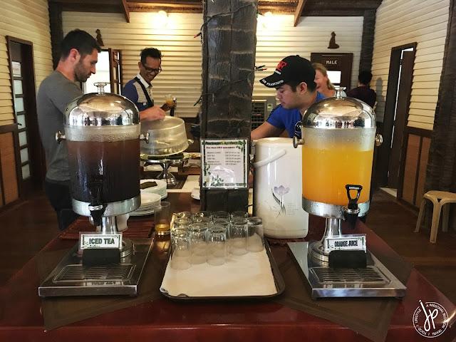 Refreshments at El Nido Airport