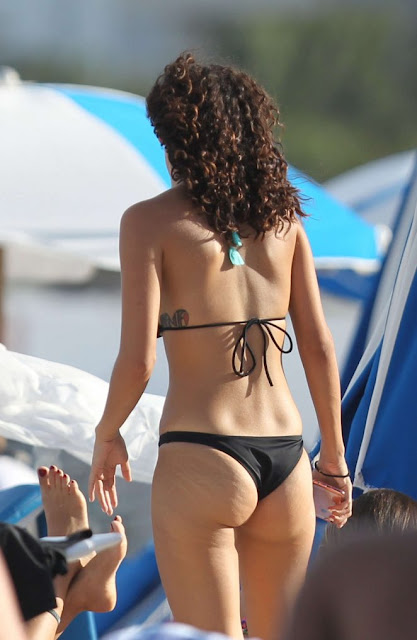 Alexandra Rodriguez in Bikini on Miami Beach