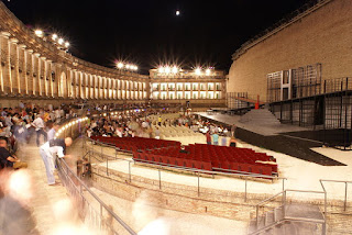 The open-air Arena Sferisterio at Macerata
