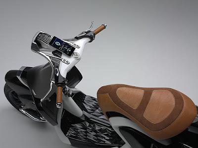 Yamaha 04Gen Concept Scooter top view