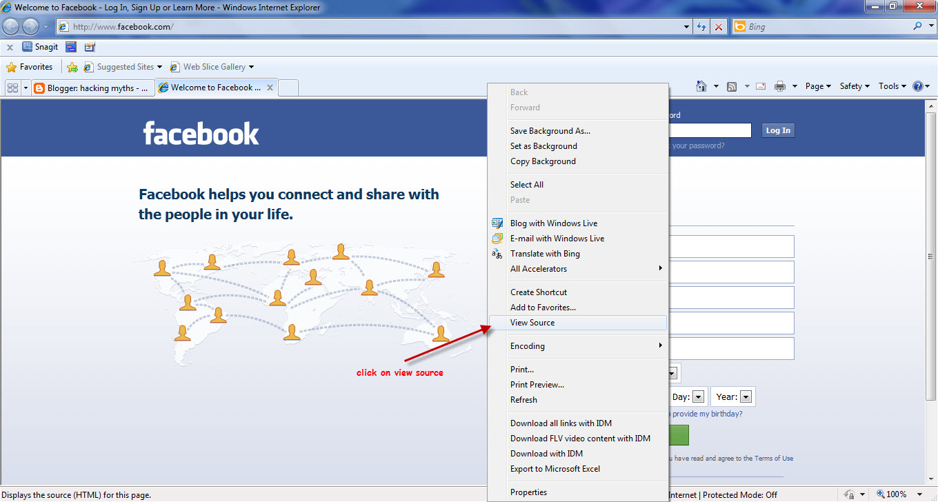 Welcome : Hack A Facebook Account By Phishing|Full Procedure|