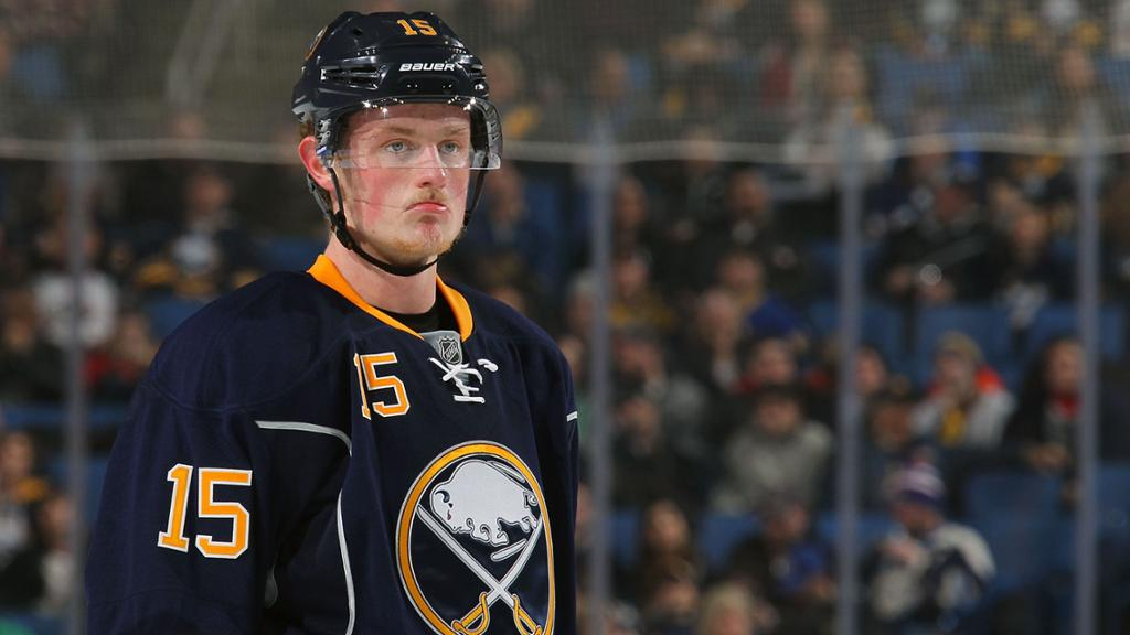 competitive price b5a15 0266d Jack Eichel is the new captain of the Buffalo Sabres