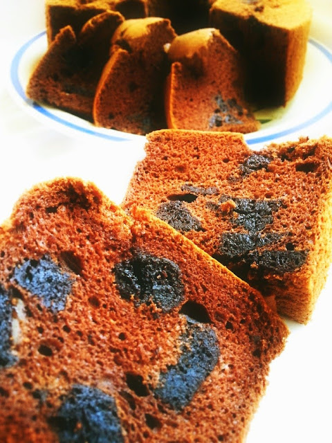 Resepi Kek Coklat Chiffon Yang Sangat Moist Dan Lembut Dengan Gabungan Fudge Brownies