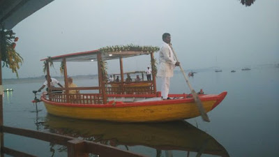 PM+Launched+Environment+Friendly+E-Boats+at+Assi+Ghat