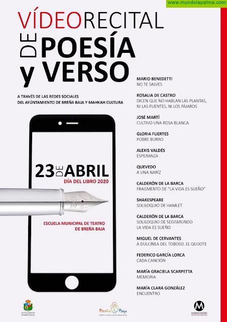 BREÑA BAJA: Video Recital de Poesía y Verso por el Día del Libro
