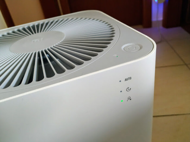 Xiaomi Mi Air Purifier 2 button and functions