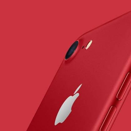 "►iPhone 7 vermelho: "" Apple"" ... lança ..."
