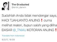 TNI AU Datangi Pelaku Hate Speech yang Hina KSAU di Twitter