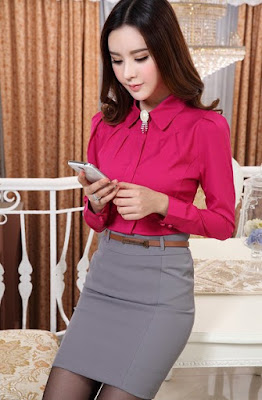 Model Blus ala Korea