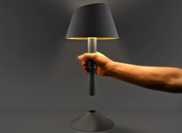 Creative Lamp Torch by Julien Bergignat