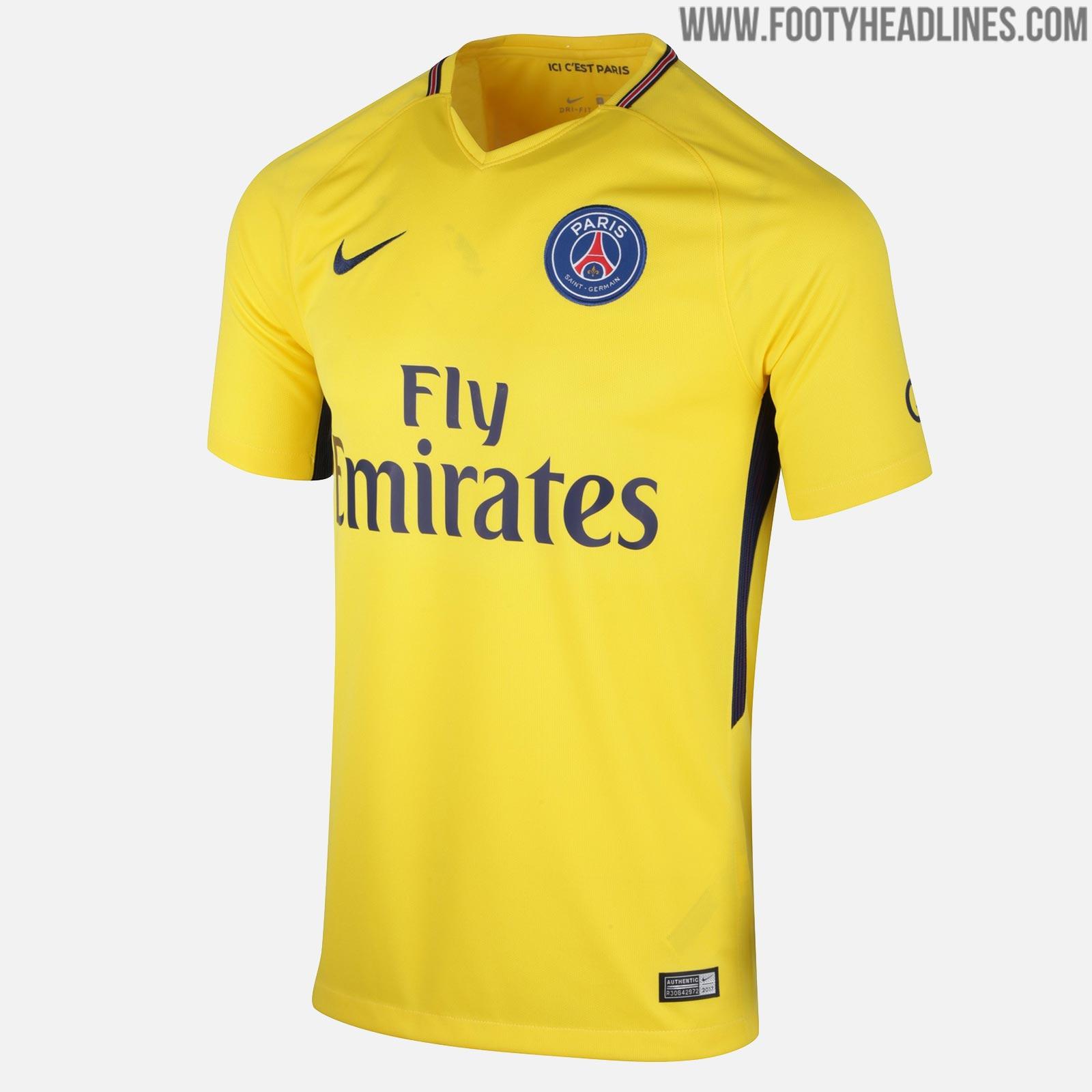 0d187319 Top 10 Paris Saint-Germain Kits In History - Footy Headlines