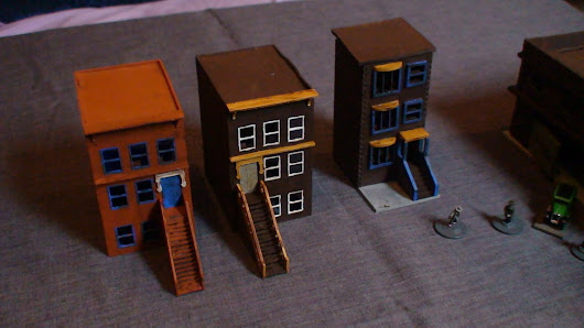 Prohibition Era - 15mm Project - (IV) - Some Buildings