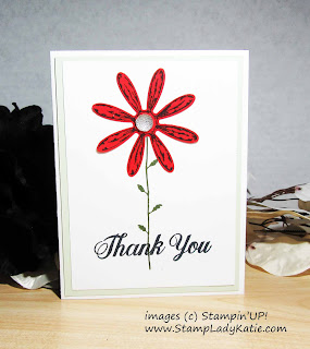 Card made with Stampin'UP!'s Daisy Delight Stamp Set by StampLadykatie