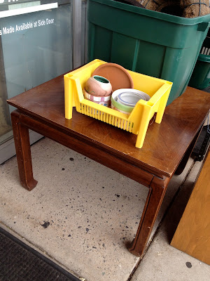 thrift store end table