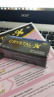 Gambar Crystal X Asli