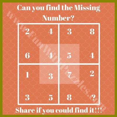 Maths Logic Puzzle Brain Teaser