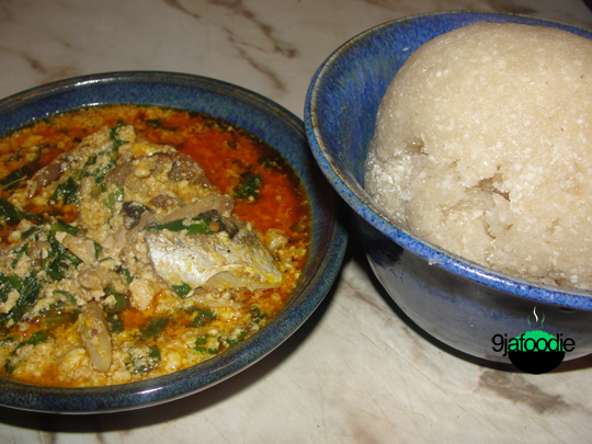 EBA: Modern African Cuisine: Egusi Soup Recipe (Yoruba Style