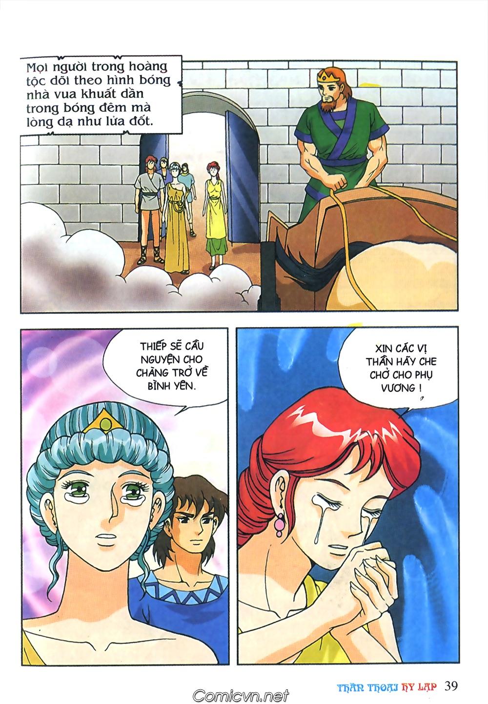 Thần Thoại Hy Lạp Màu - Chapter 63: Lão vương Pri am chuộc xác con - Pic 13