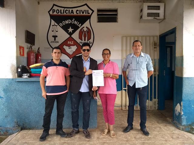 APAE RECEBE DOAÇÕES DA POLÍCIA CIVIL DE NOVA MAMORÉ