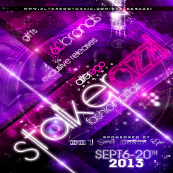 Stalkarazzi on  9/ 6 this FRIDAY!!