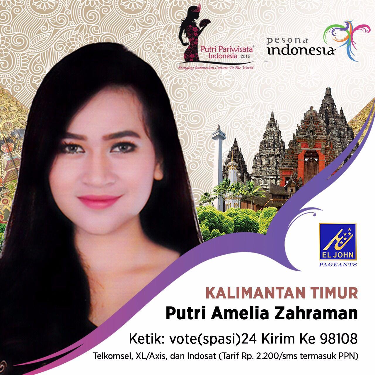 My Life Is My Story Putri Amelia Untuk Kalimantan Timur