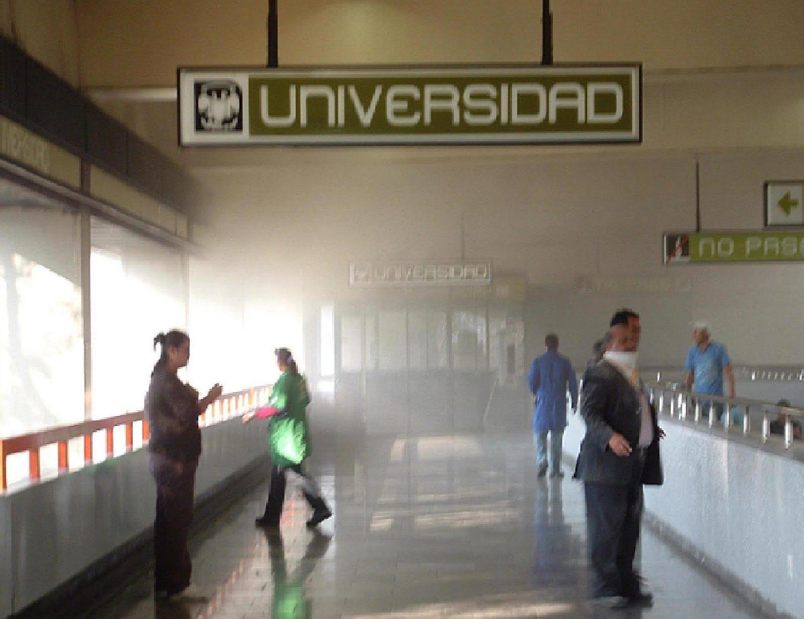 Los percances en el metro, cada vez más frecuentes. FOTO: Especial