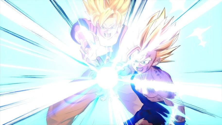 Dragon Ball Z Kakarot Goku Gohan Kamehameha 4k Wallpaper 7 847