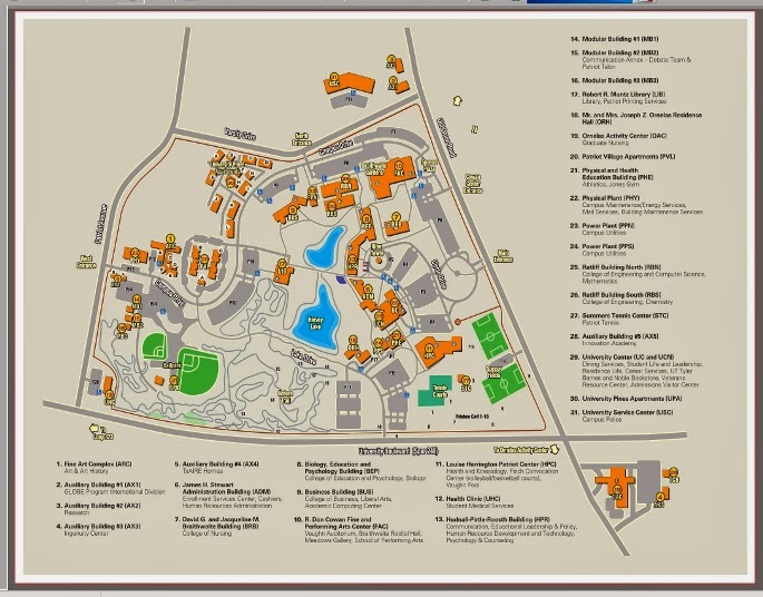 Ut Tyler Campus Map The UT Tyler Student Blog: UT Tyler FAFSA workshop! Ut Tyler Campus Map