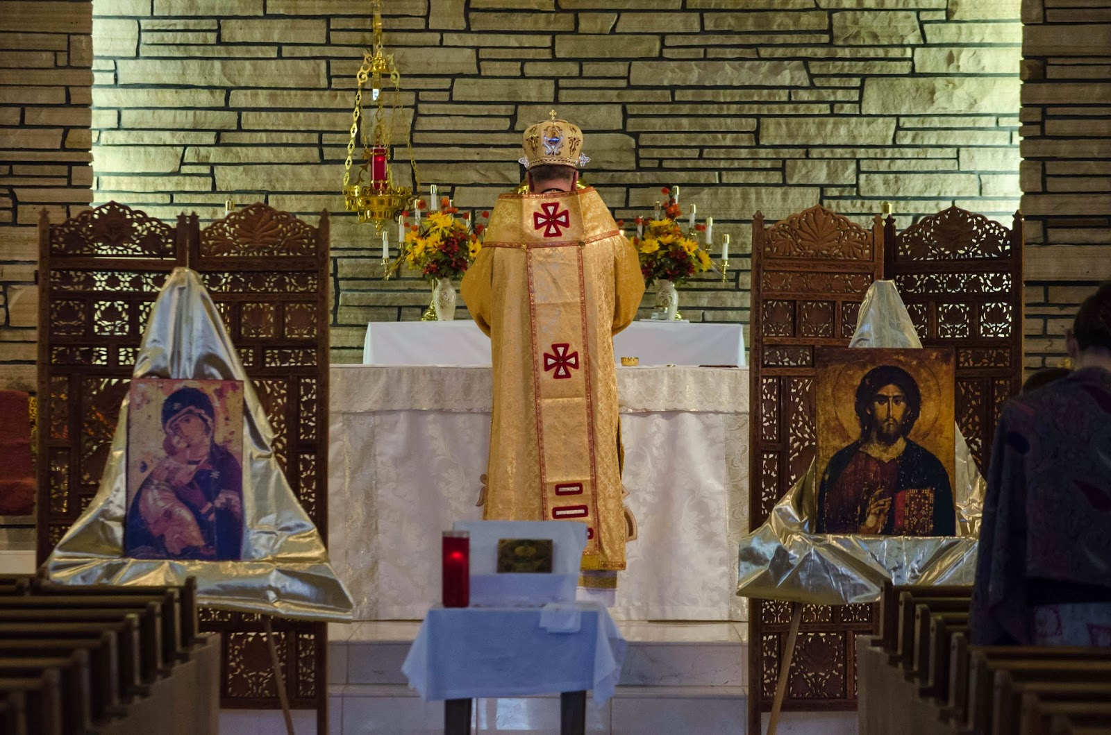 New Liturgical Movement Byzantine Divine Liturgy At Wyoming