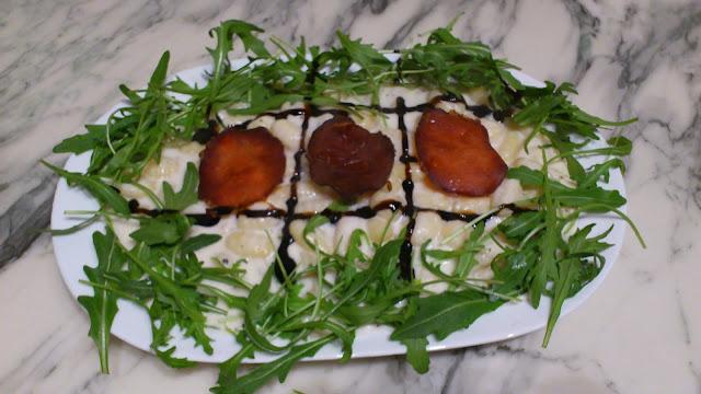Gnocchis mozzarella-roquette