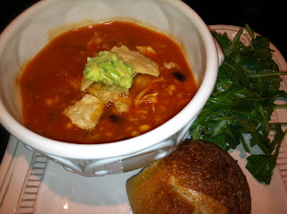 Tortilla Soup & Fresh Guacamole  Ole!