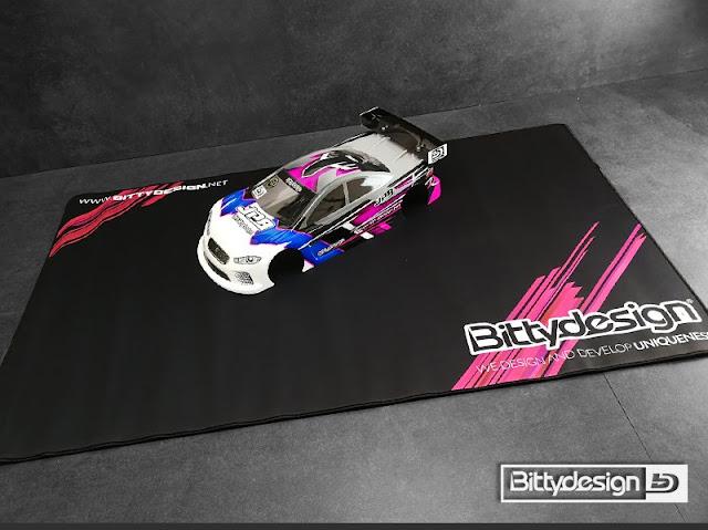 Novo table pad da Bittydesign