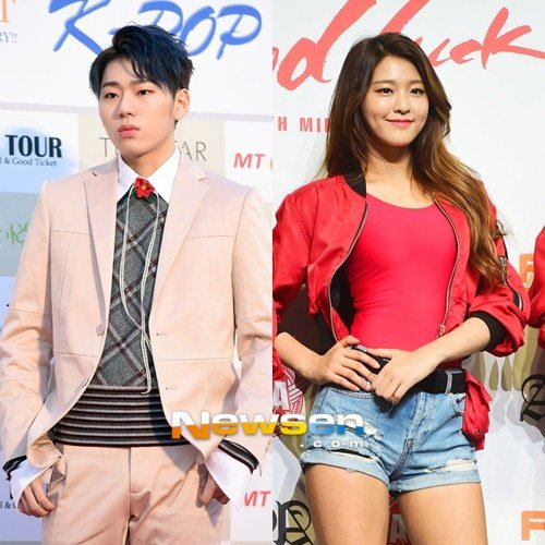 Zico dating seolhyun