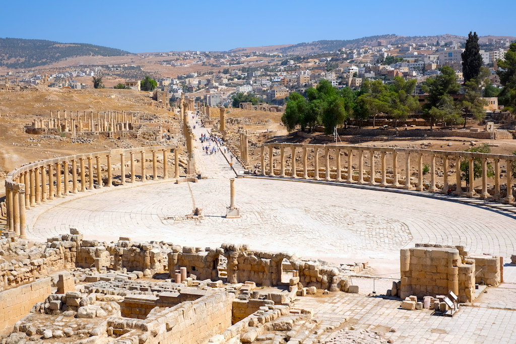 Journey to Desert and Arctic - Jerash, Jordan