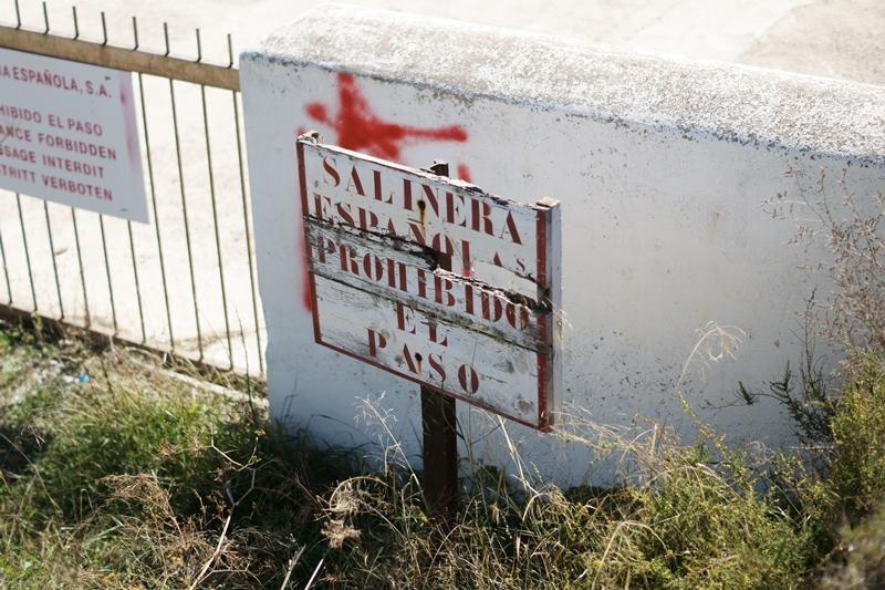 Blog + Fotografie by it's me! - Ses Salines, Ibiza - Verbotschild