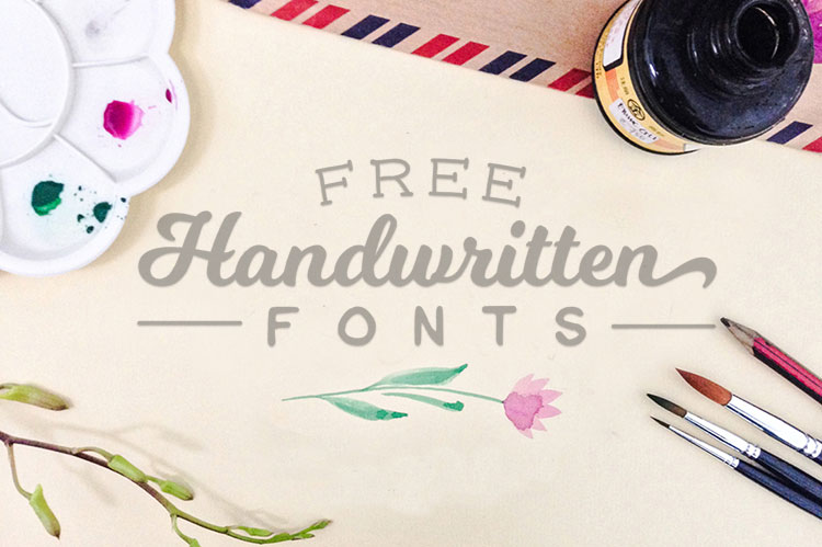 40 Amazing Free Handwritten Fonts for Graphic Designers