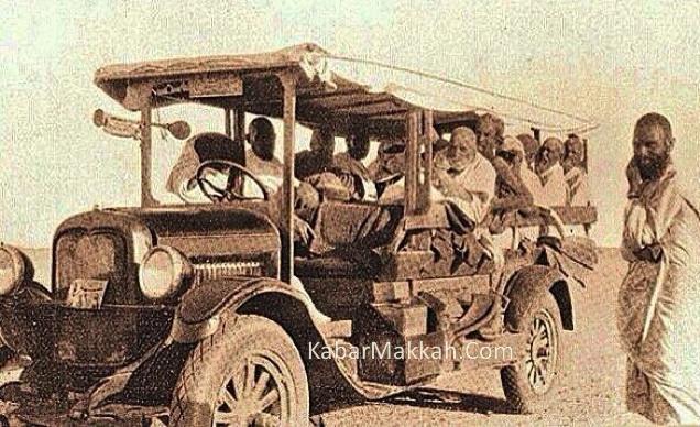 Bus Pertama Pengangkut Jamaah Haji