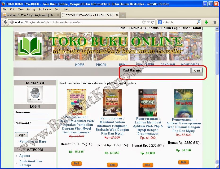 Judul Skripsi Sistem Informasi E Commerce