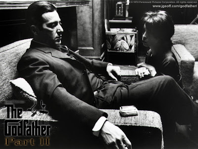 Al Pacino as Michael Corleone in The Godfather: Part II, Directed by Francis Ford Coppola