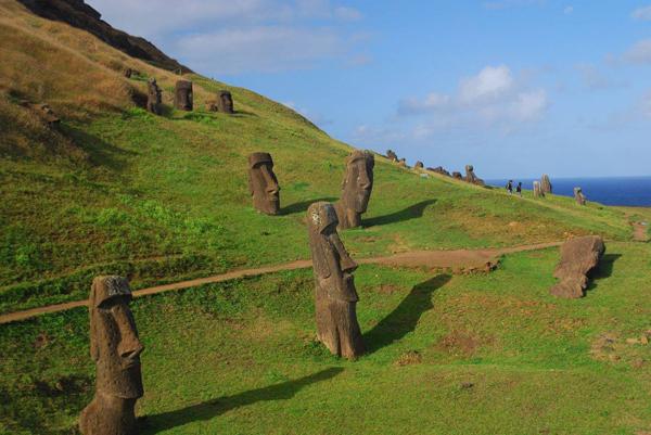 Terungkap Sudah Tentang Misteri Patung Moai