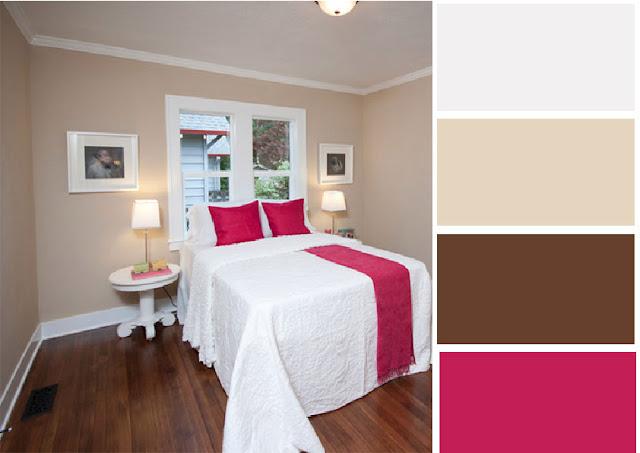 40 combinaciones de paletas de colores para dormitorios - Combinacion de colores para paredes de dormitorios ...