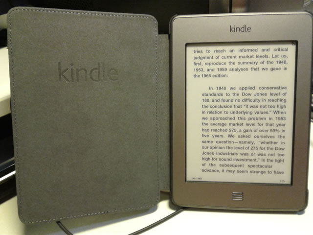 Blogging for Myself: Kindle Touch Case Arrived