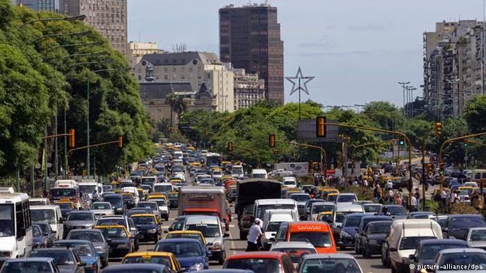 10 Kota Termacet di Dunia